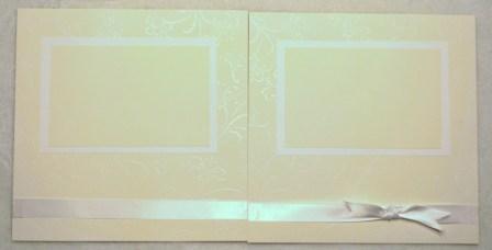 8x8 wedding scrapbook pages