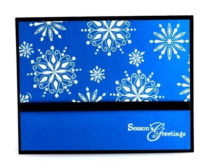 Stampin' Up! Snow Swirled Stamp set