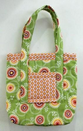 Floral District fabric bag for sale