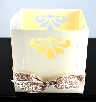Elegant Notes Candle Holder