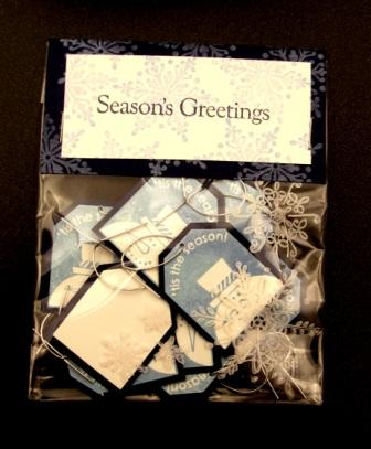 Christmas Punch stamp set