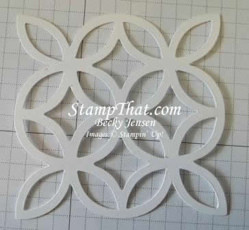 Stampin' Up! Lattice Die