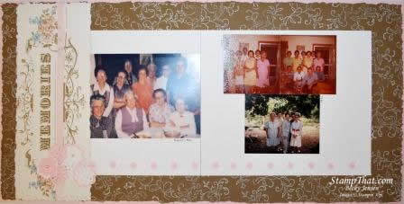 Scrapbooking Our Family Heritage