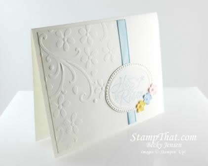 Stampin' Up! Easter Dove Card