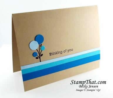 Summer Smooch Bright Blossoms Card