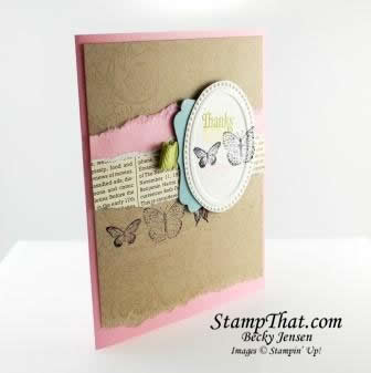 Kindness Matters Pretty in Pink Card