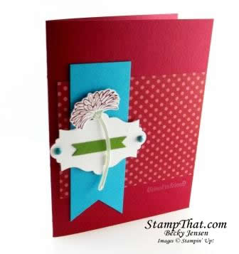 Stampin' Up! Reason to Smile