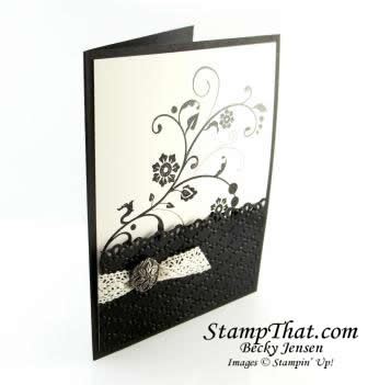 Flowering Flourishes Stamp of the Month Class