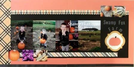 Swamp Fox Farm Scrapbook Layout