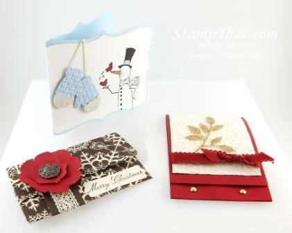 Handmade Christmas Gift Card holders
