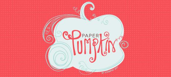 Stampin' Up! My Paper Pumpkin