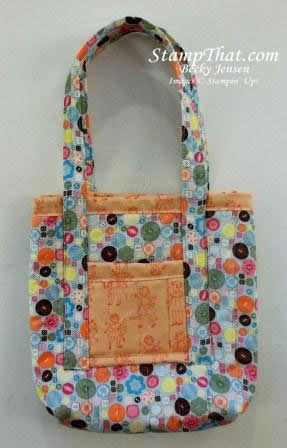SU! Sweet Stitches Fabric bag