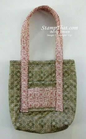 Deck the Halls Fabric Bag for sale