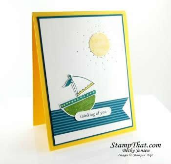 Moving Forward Handmade Card