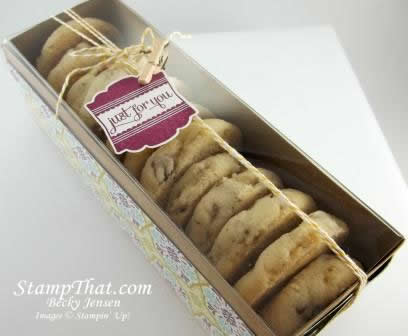 Stampin' Up! Cookie packaging