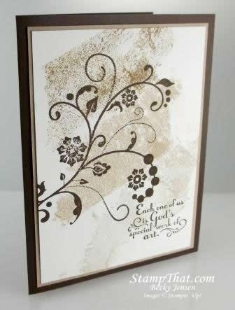 Flowering Flourishes & Trust God stamp sets
