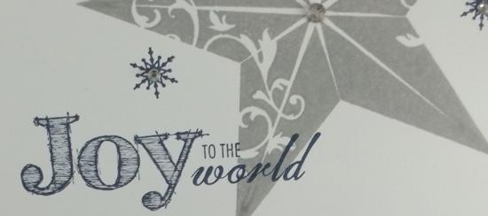 Christmas Star Christmas Card