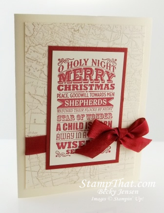 Stampin' Up! O Holy Night