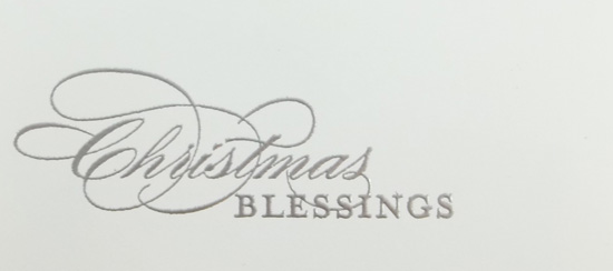 Clean & Simple More Merry Messages Christmas Card