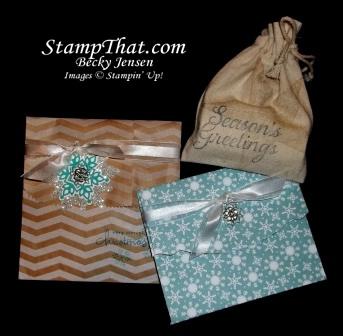 Handmade Christmas packaging