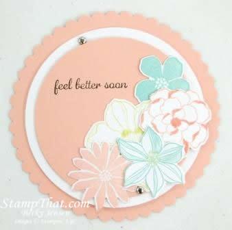Circle framelits card