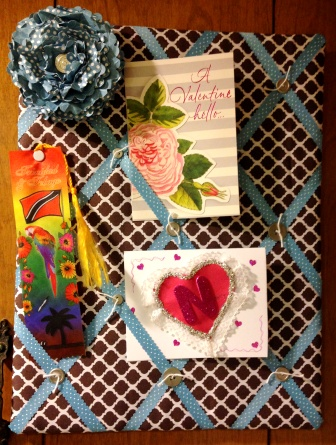 card display board for craft room