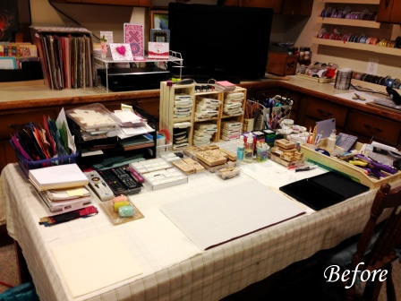 Craft Room desk
