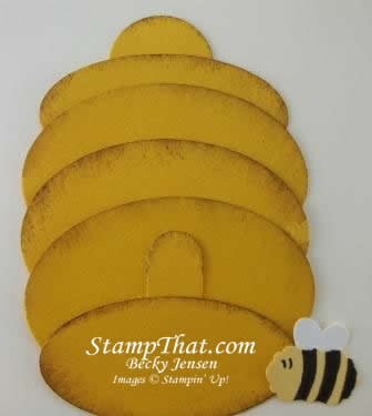 Punch Art Bee Hive