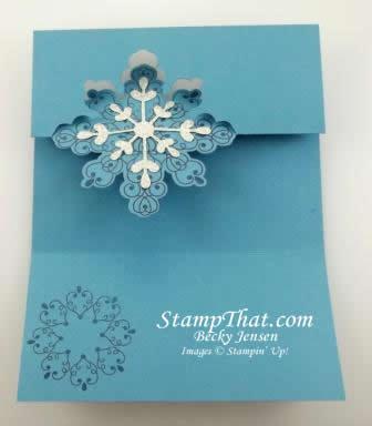 Stampin' Up! Snowflake Card