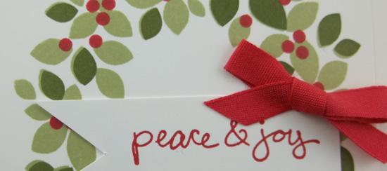 Wondrous Wreath Christmas Card Class