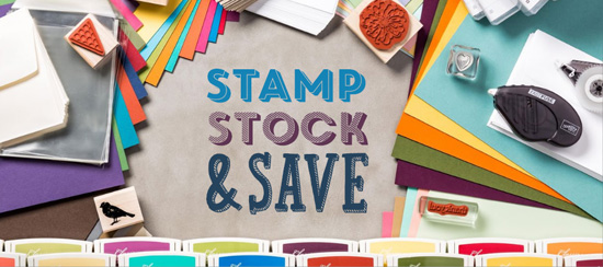 Stampin' Up! Stock Up & Save Sale