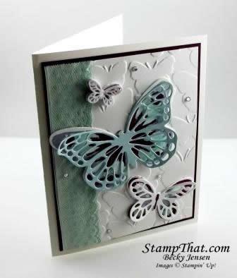 Watercolor Wings stamp set