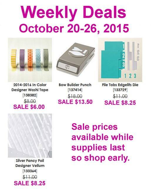 Stampin' Up! Sale