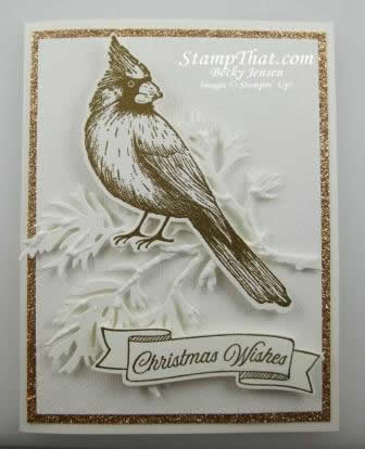 Stampin' Up! Toile Christmas