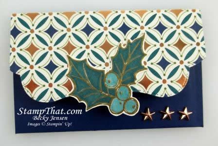 Handmade Gift Card Holder