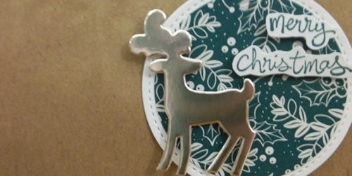 Dashing Deer Christmas Gift Bag
