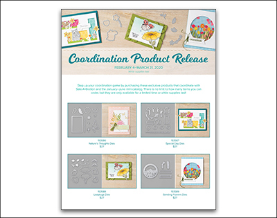 Stampin' Up! Coordination Product