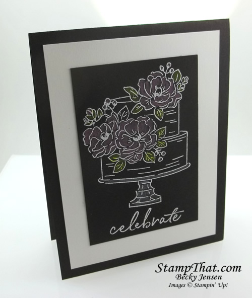 Stampin' Up! Happy Birthday to You stamp set