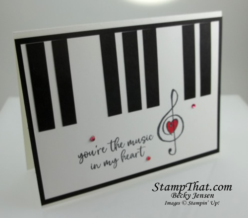 Stampin' Up! Music From the Heart