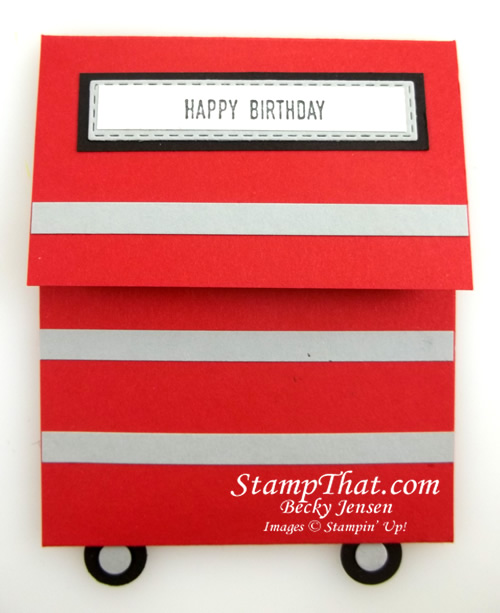 Tool Box Gift Card Holder