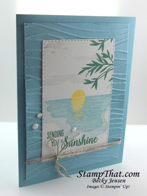 Sending Sunshine stamp set