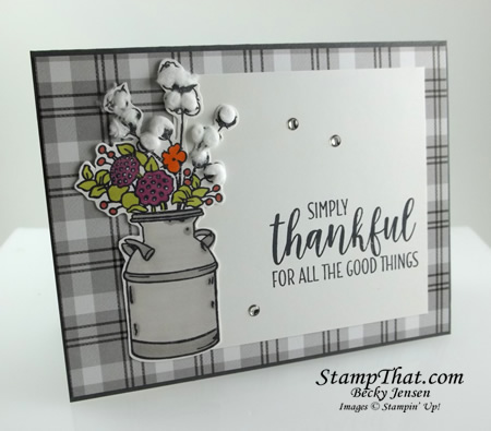 Stampin' Up! Country Home Stamp Set