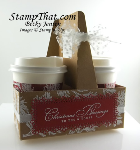 Stampin' Up! Peaceful Boughs stamp set