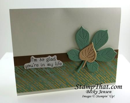 Love of Leaves stamp set