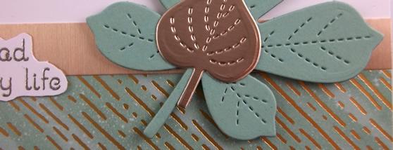 Simple Love of Leaves Card