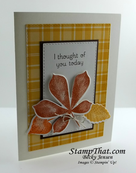 I thought of You card