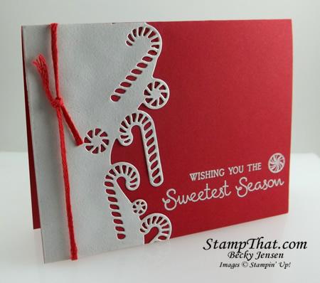 Wishing You the Sweetest Season Handmade Card
