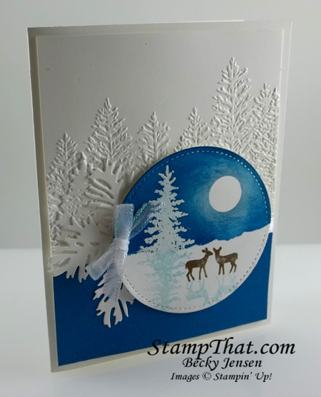 Stampin' Up! Snow Front