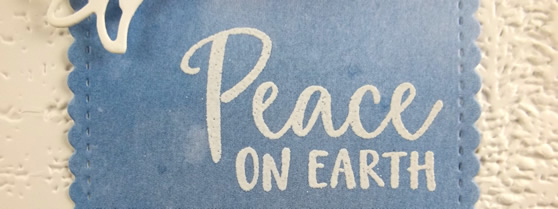 Peace on Earth Dove of Hope Card