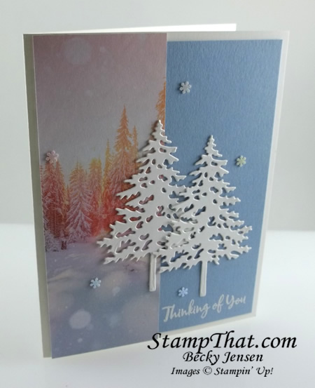 Stampin' Up! In the Pines